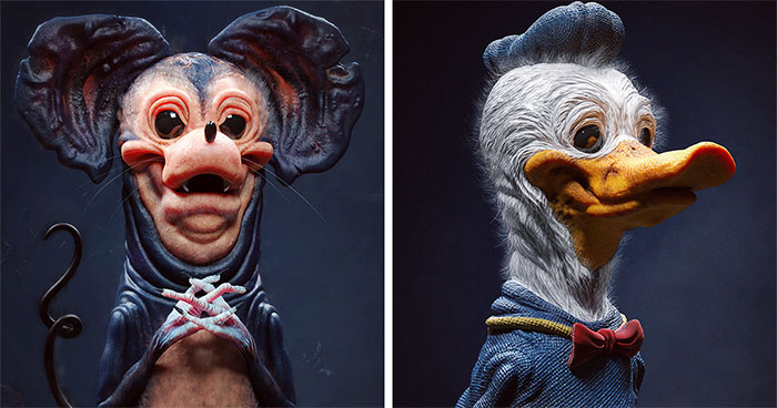 Digital Artist Creates Terrifying Versions Of Popular Characters To Keep You Up At Night (30 Pics)