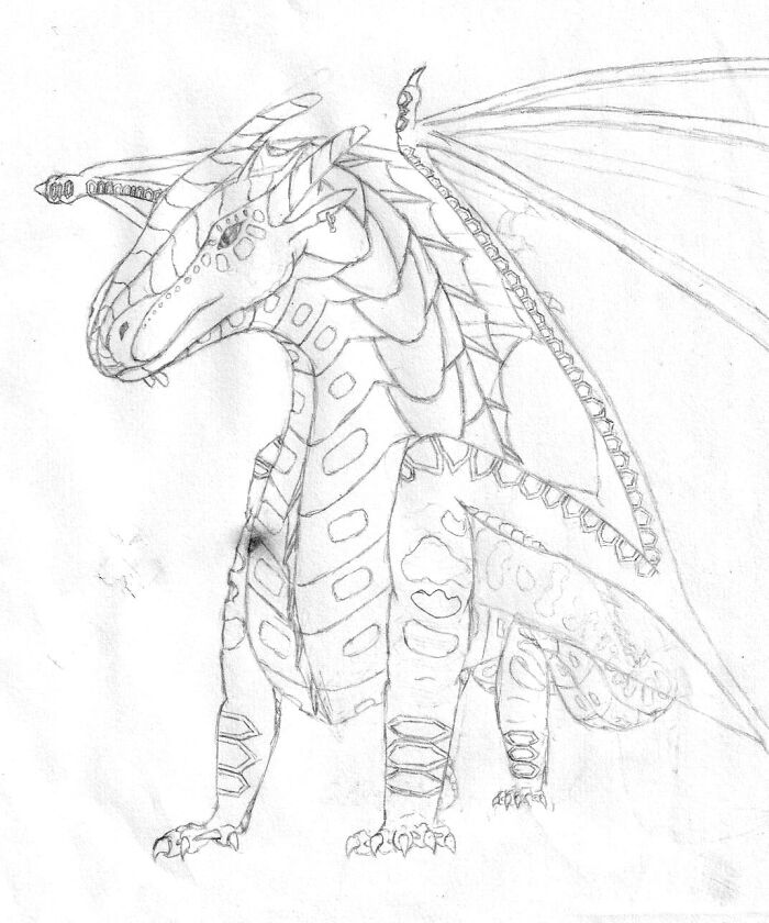 Seawing From Wings Of Fire :d