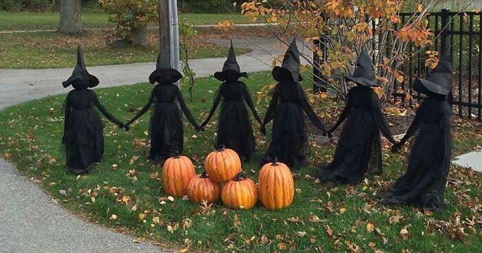 40 Casas decoradas para Halloween que dejaron a todo el mundo boquiabierto (Nuevas fotos)