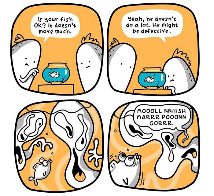Australian Cartoonist Creates Silly Comics To Make You Laugh (30 Pics)