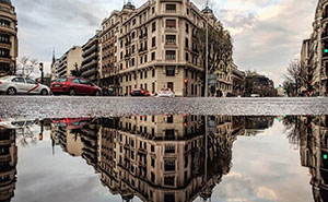 I Capture The Beauty Of Madrid Using Reflections And My Smartphone (34 Pics)