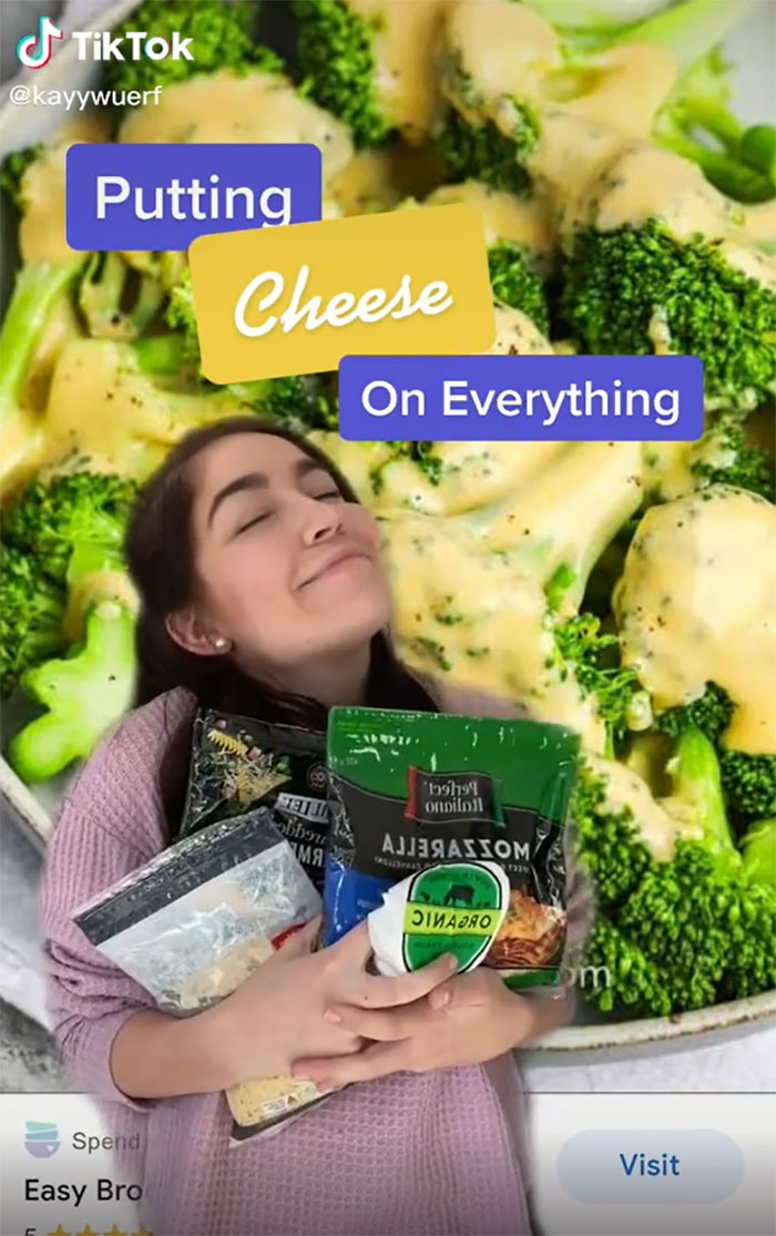 Putting Cheese On Everything