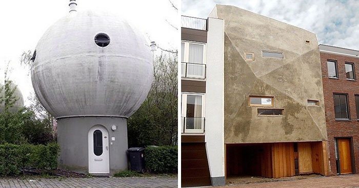 Esta cuenta de instagram documenta las casas feas que se ven en los Países Bajos, y son tan malas que dan risa (30 fotos)