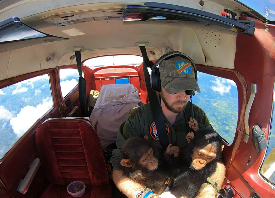 Category Winner. Photojournalist Story Award: 'Flying Rescue' By Brent Stirton