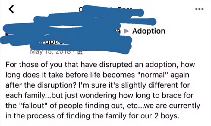 """""""You're Teaching Them Love Is Conditional"""": Woman Calls Out Adoptive Parents Who Rehome Their Kids Through Facebook"""