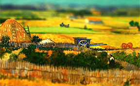 16 Van Gogh's Paintings Get Tilt-Shifted