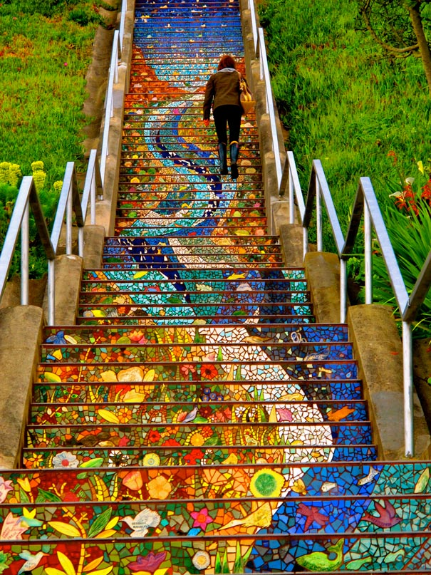The 16th Avenue Tiled Steps Project