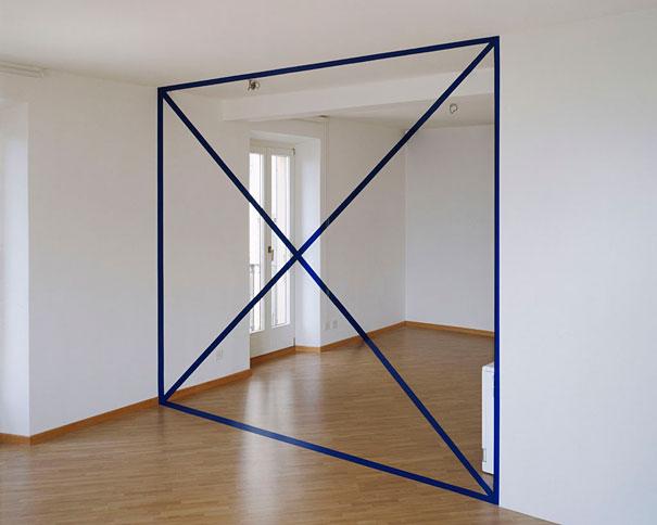 Anamorphic Illusions By Felice Varini Bored Panda