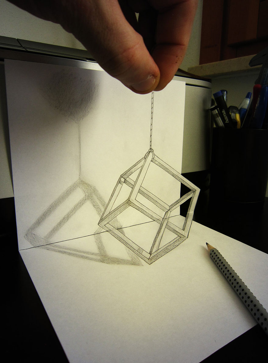 3d drawing pencil 3d pencil drawings by alessandro diddi bored panda 949