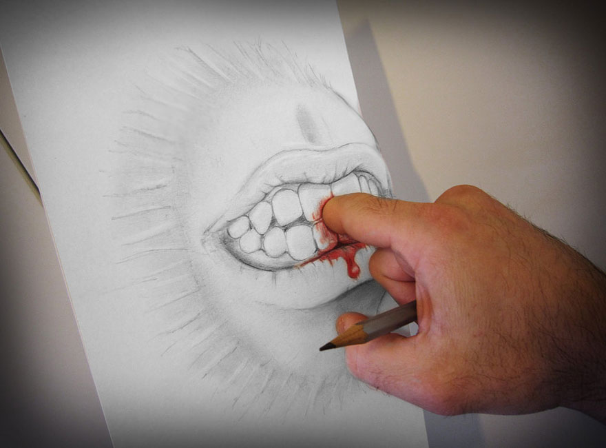 3d Pencil Drawings By Alessandro Diddi Bored Panda