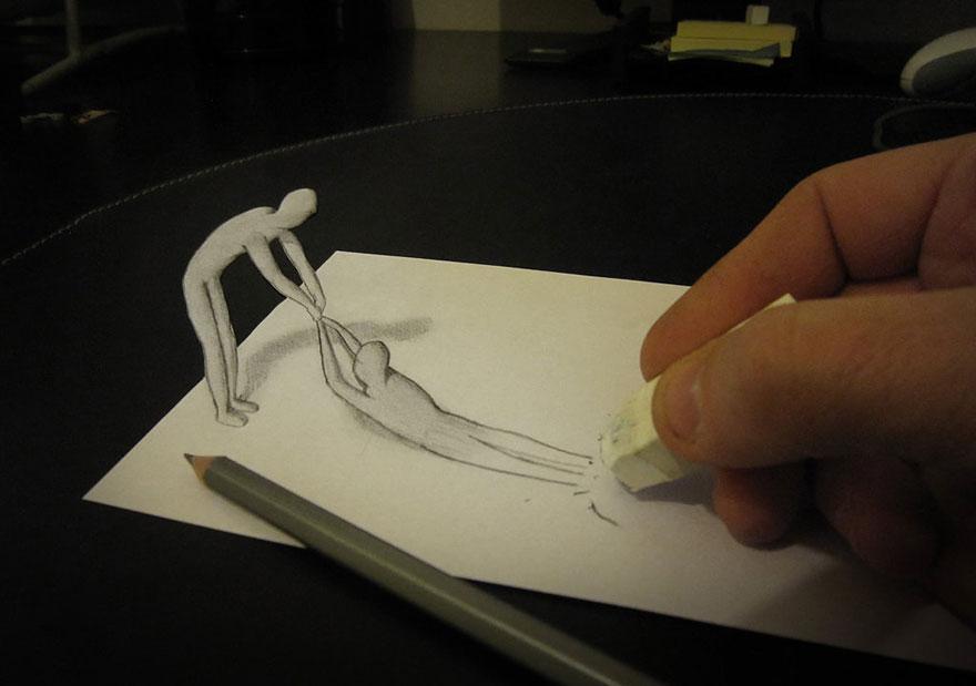 Как сделать себе хорошо карандашом