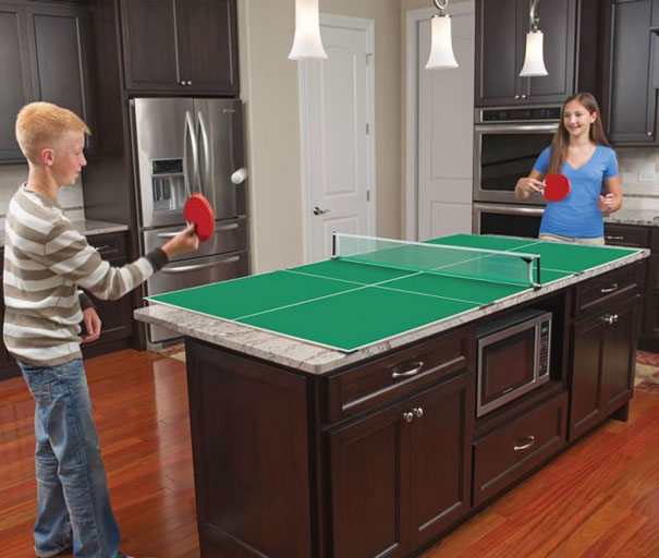 32. Kitchen Table Tennis