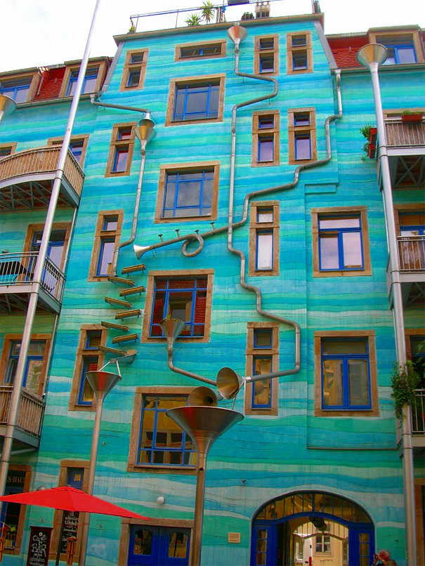 14. A Wall That Plays Music When It Rains