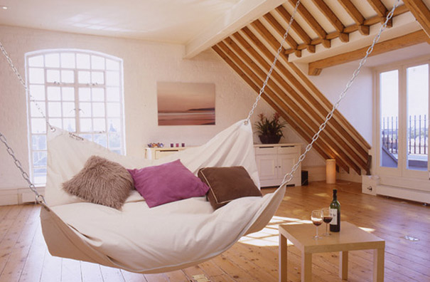Interior Design Ideas 30 inspirational 10 Hammock Bed