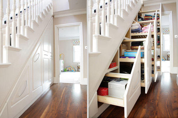 Good 11. Understairs Storage