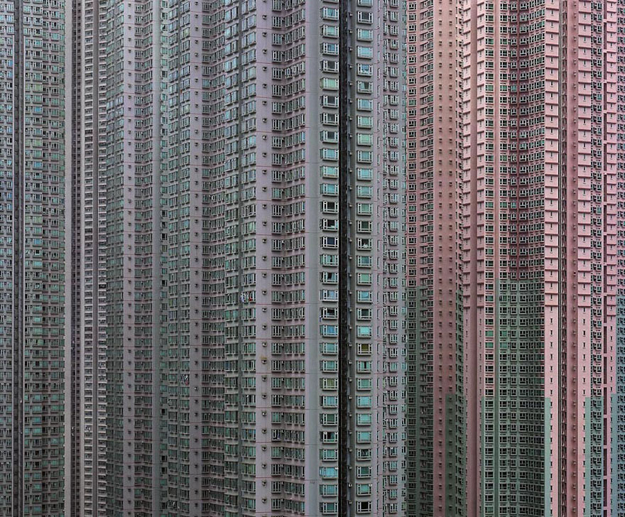 Mind-Blowing Architectural Density in Hong Kong