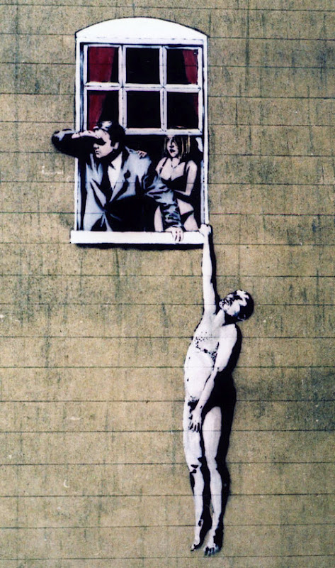 80+ Beautiful Street Crimes done by BANKSY