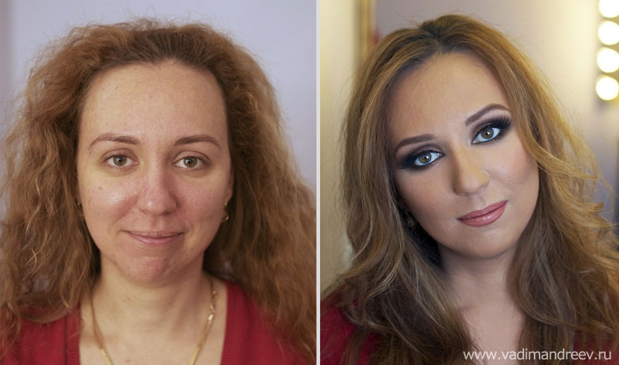 Stunning Before And After Makeup Photos By Vadim Andreev Bored Panda - Before and after makeup photos