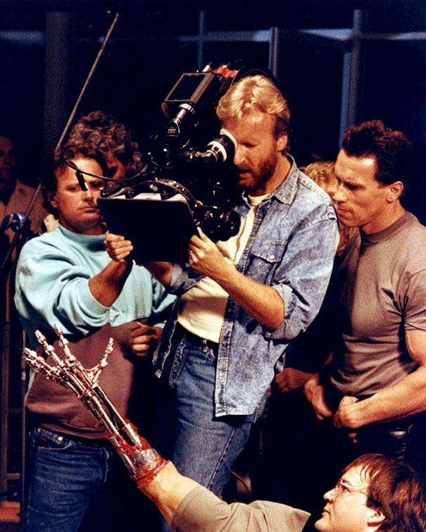30 awesome behind the scenes shots from famous movies bored panda