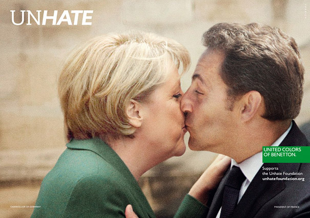 'Unhate' Ad Campaign by Benetton Shows World Leaders ...