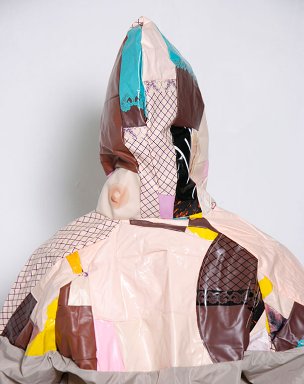 Clothes Made From Used Blow-Up Dolls
