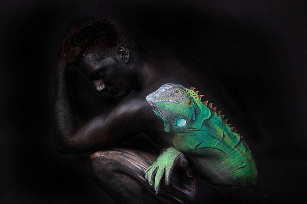 Amazing Body Art Illusions by Gesine Marwedel