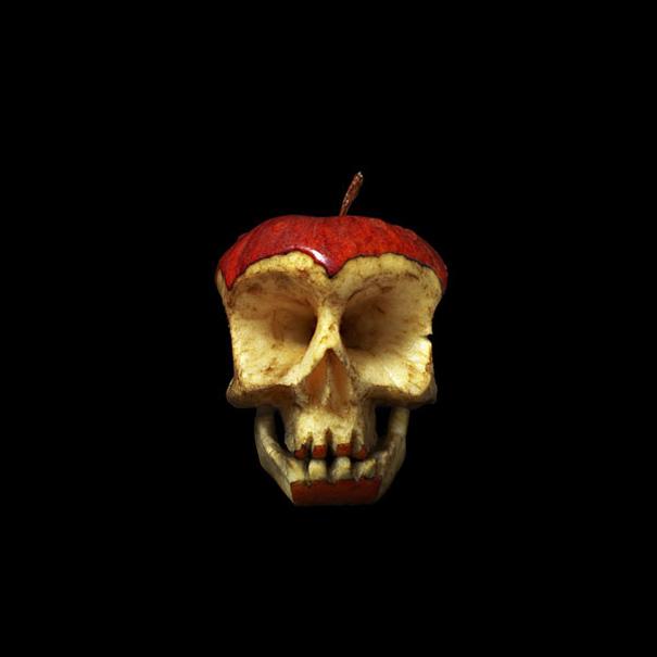 Carved Fruit And Veggie Skulls By Dimitri Tsykalov Bored