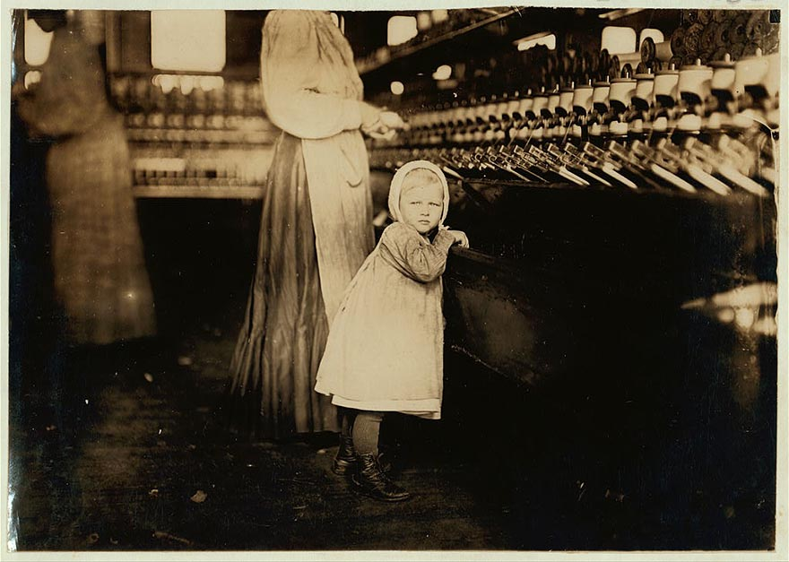 Heart Breaking Pictures Of Child Labour In Usa By Lewis