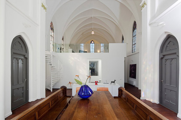 Churches Converted Into Modern Family Homes