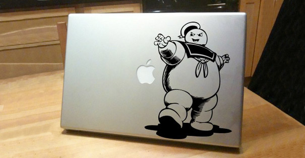 Ghostbusters stay puft laptop skin decal sticker