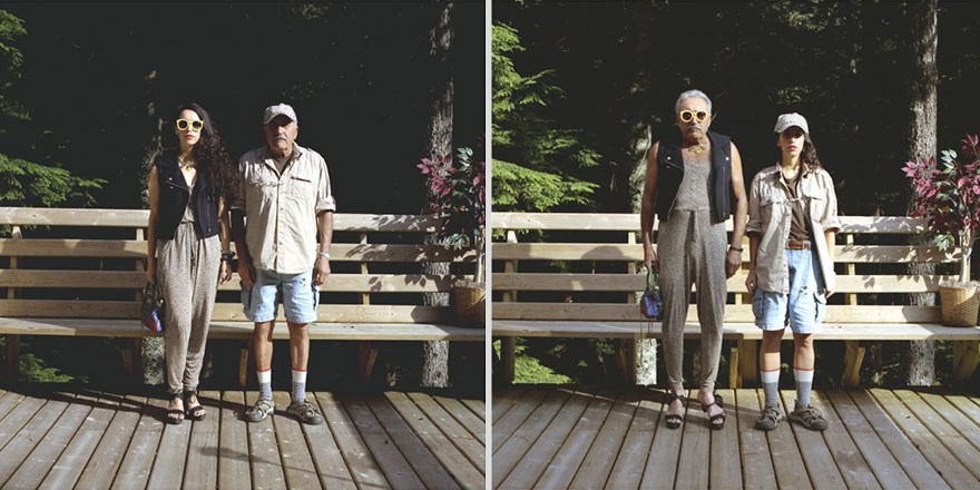 Couples Switch Outfits In Playful, Gender-Bending Photo Series By Hana Pesut (31 pics)