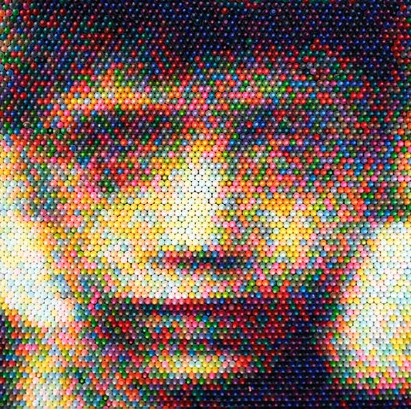 Stunning Crayon Pixel Art By Christian Faur