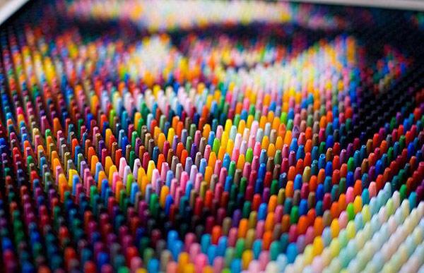 Stunning Crayon Pixel Art By Christian Faur Bored Panda
