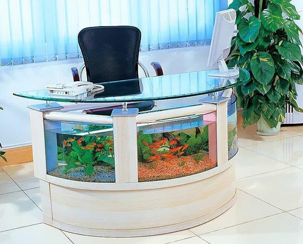 22 unusual and creative aquariums bored panda - Aquarium table ...