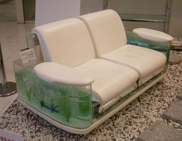 creative inspiration beautiful aquariums for home.  This sofa features aquariums on both its sides So all those who love keeping fishes in your home then this is a must have for you 22 Unusual and Creative Aquariums Bored Panda