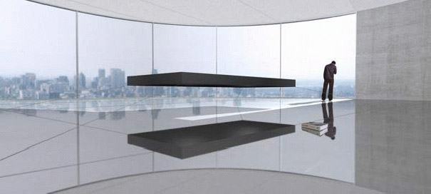 using the power of permanent opposing magnets to enable it to float the full scale bed can hold 900 kilograms of weight
