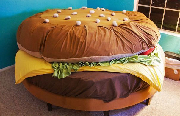 26 cool and unusual bed designs bored panda for Cool bed head ideas