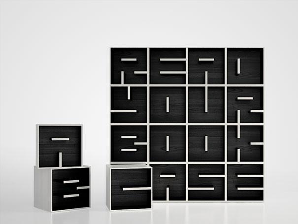 Astounding 33 Creative Bookshelf Designs Bored Panda Largest Home Design Picture Inspirations Pitcheantrous
