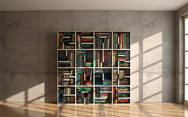 Nominated As The Selected Design In Young 2010 This Stylish Bookshelf Will Always Work A Good Reminder To Read What You Have Put Ti