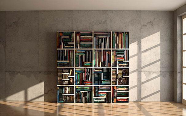 Stupendous 33 Creative Bookshelf Designs Bored Panda Largest Home Design Picture Inspirations Pitcheantrous