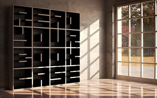 Peachy 33 Creative Bookshelf Designs Bored Panda Largest Home Design Picture Inspirations Pitcheantrous