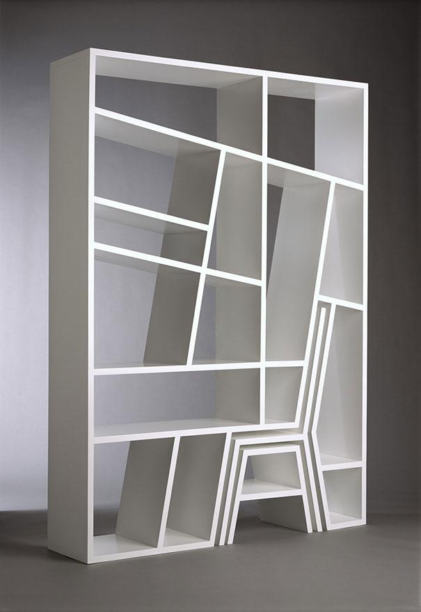 Fabulous 33 Creative Bookshelf Designs Bored Panda Largest Home Design Picture Inspirations Pitcheantrous