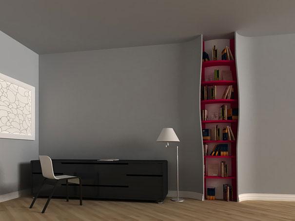 Most Unique And Creative Bookshelves 4