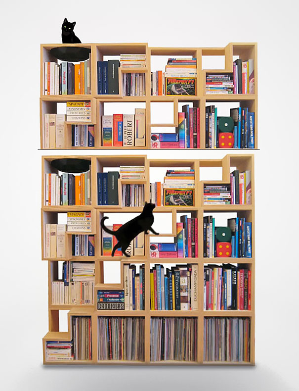 Bookshelves Design 33 creative bookshelf designs | bored panda