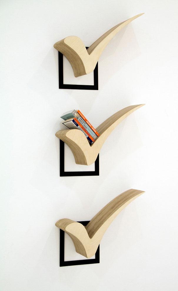 Creative Bookshelves Design ~ Creative bookshelf designs bored panda