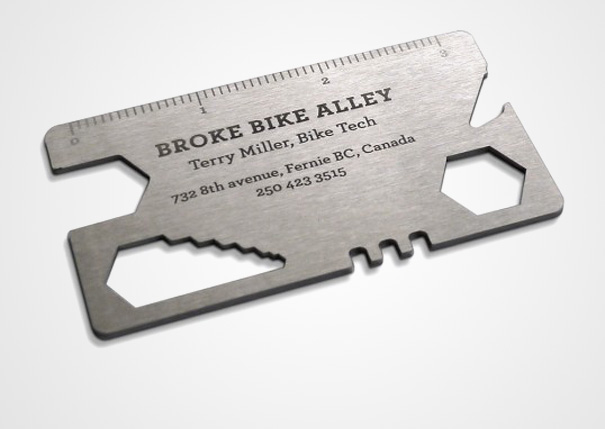 21 More Creative Business Card Designs