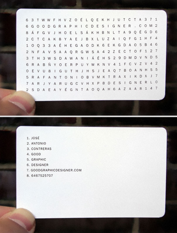 20 more creative business card designs bored panda