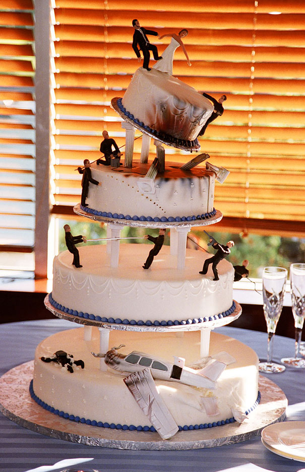 Bored Panda Wedding Cakes