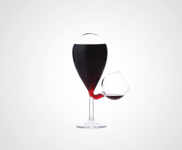杯子的联想创意图形