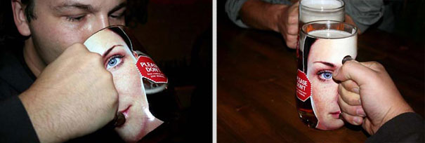 20 More Clever Guerrilla Advertising Examples